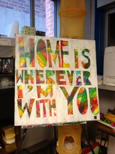 homeiswhereverimwithyou